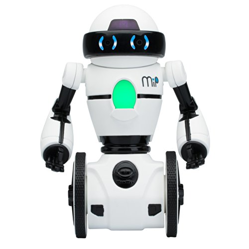 41YHc8QpEsL - Wow Wee- Robot MiP Blanco, Color (WowWee 0821)