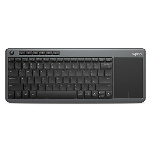 Rapoo K2600 Wireless Touch Keyboard (Grey)