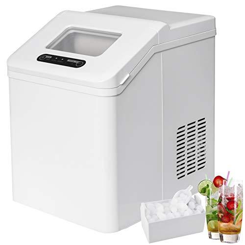 WOLTU EM02ws Machine à glaçons 150W Ice maker Machine à Glace 2.5L, Blanc