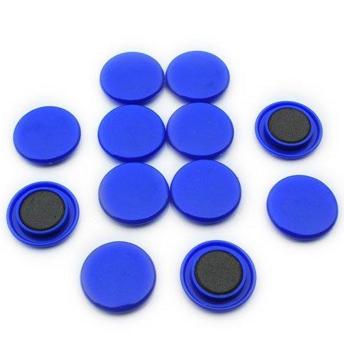 Magnet Expert - Magneti per bacheca/frigorifero, misura grande, 40 x 8 mm (confezione da 12),...
