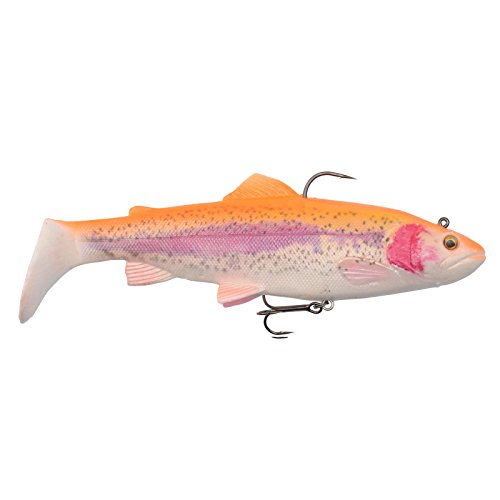 Savage Gear 4D Rattle Trout Shad 12.5cm Golden Albino
