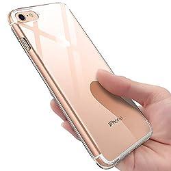 Kaufen iPhone 8 Hülle , iPhone 7 Silikon Hülle , innislink Transparent TPU Bumper Case Schutzhülle iPhone 8 / iPhone 7 Ultra Dünn Kratzfest Stoßfesten Schlank Soft Case Cover Handyhülle für iPhone8 / iPhone7