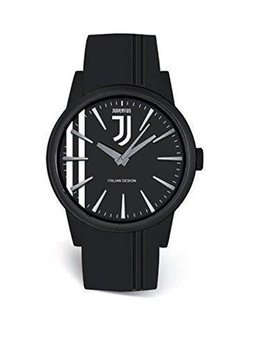 Orologio Quadrante Nero Ufficiale F.C. Juventus