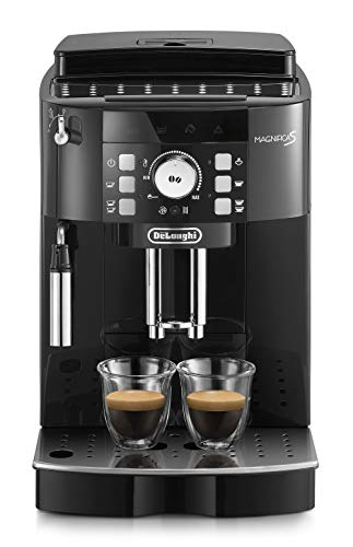 De'Longhi ECAM21.110.B Magnifica S Macchina per caffè espresso superautomatica, 1450 W, Nero