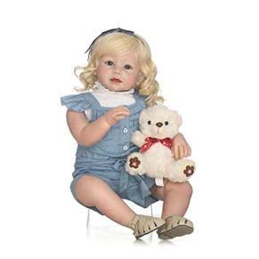 Golden Curls Nursery Baby Alive Doll Realista Pretender Juego de rol Juguetes para niños Cute Newborn Baby Girl Doll…