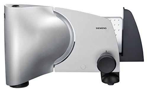 Siemens MS6152M rebanadora - Cortafiambres (Aluminio, De plástico, 50/60 Hz, 220 - 240 V, Color blanco)