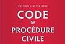 Code de procédure civile 2019 annoté. Édition limitée