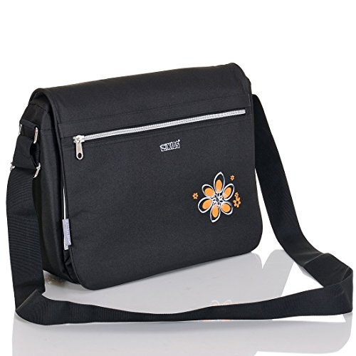LCP Kids Wickeltasche VIENNA BLACK