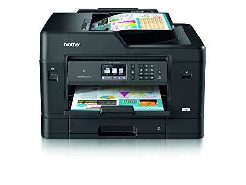 Brother MFC-J6930DW DIN A3 4-in-1 Farbtintenstrahl-Multifunktionsgerät (2 x 250 Blatt Kassette, Drucker, Scanner, Kopierer, Fax)
