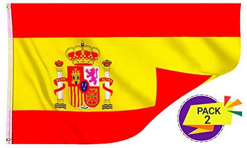Marquise & Loren Flag di Spagna, Migliore qualità del Prezzo, Durata, Resistente, Impressione,...