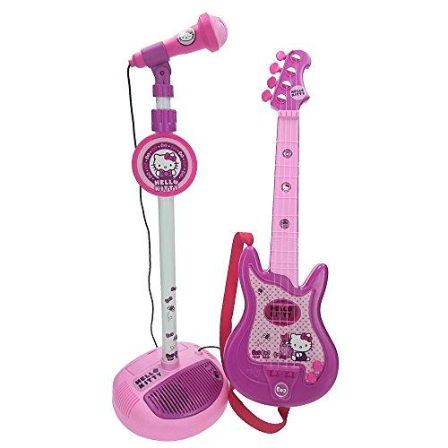 Guitarra y Micro de pié