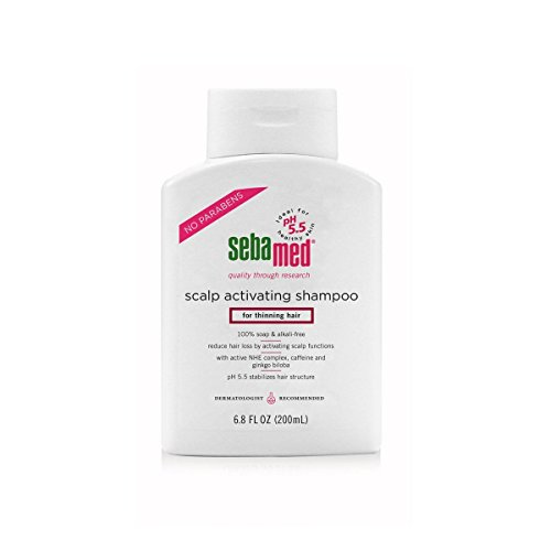Sebamed Scalp Activating Shampoo For Thinning Hair Supports Natural Hair Growth Helps Fight Hair Loss Dermatologist Recommended 6.8 Fluid Ounces (200