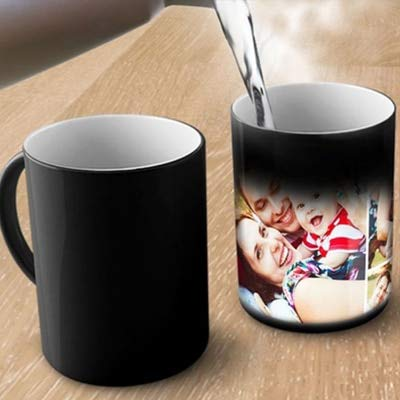 Ashani Creation Love Personalized Ceramic Mug, 350 ml (Multicolour)