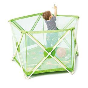 LHR888 Vallado para niños Vallado de Juegos de Interior Valla Hexagonal Valla de Seguridad para Parques Infantiles…