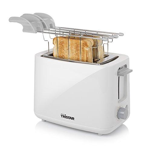 Tostapane Tristar BR-1041 Bianco – 2 aperture per tostare – Con pinze per tramezzini
