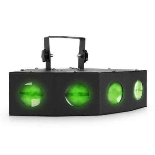 Beamz Moonflower effetti luce LED discoteca (72 potenti LED, 4 fasci di luce, microfono integrato...