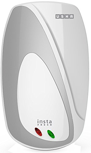 Usha Instafresh 3-Litre 3000-Watt Instant Water Heater (White Silver)
