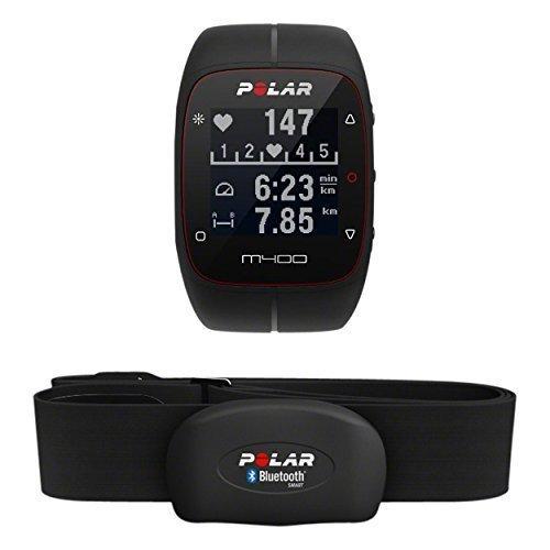 Polar M400, Orologio GPS per Corsa Outdoor e Indoor Adulto Unisex, Nero, M