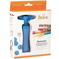 Decora Decortwist con 20 Trafile, Plastica, Blu
