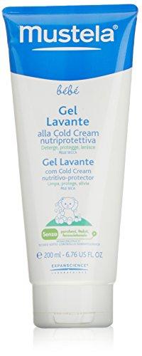 Mustela Bébé - Gel Lavante Supergraso al Cold Cream nutriprotector - Piel Seca - 200 ml