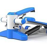 Stepper Multifonctionnel Muet Stovepipe Fitness Minceur Matériel D'exercice Maison 36 * 36 * 50 Cm,Blue