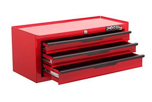 Hilka G301C3BBS - Contenitore robusto per utensili, con 3 cassetti