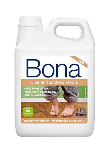 Bona, detergente per parquet WM700115025, per pavimenti oliati, tanica di ricarica, 2,5 l, per la...