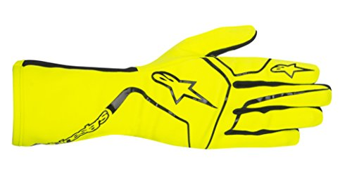 Alpinestars, Guanti protettivi, per Kart, Tech 1, K Race, gelb fluor / schwarz, L