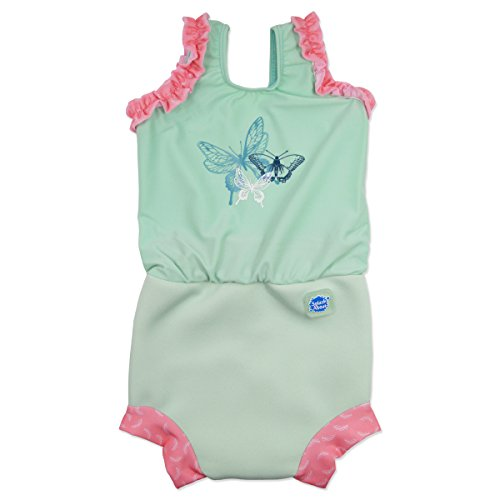 Splash About Baby Happy Nappy Costume, Medium/3-8, Dragonfly, 3-8 Months