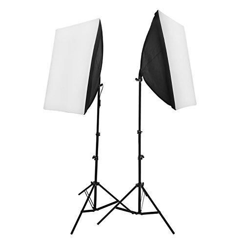 RPGT 50x70cm 20'x28' continuo illuminazione kit Diffusori di Luce Softbox per la Fotografia con...