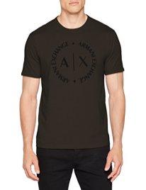 Armani-Exchange-8nztcd-Camiseta-para-Hombre-Verde-Peat-1832-X-Small