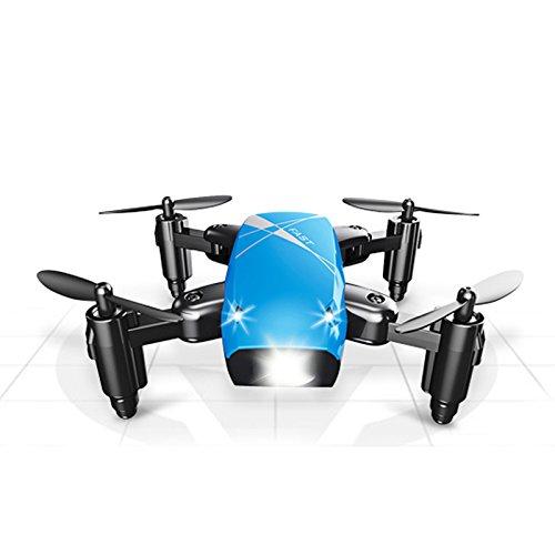 SODIAL S9 Pieghevole 2.4 GHz 6 Assi Wifi Trasmissione in tempo reale Drone Headless One Return...