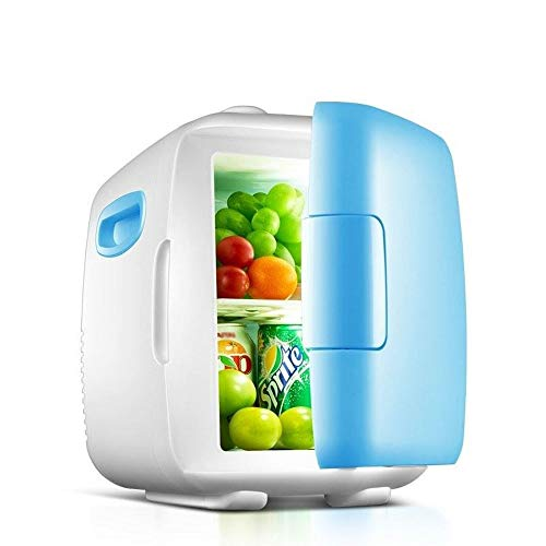 HUIQC Mini frigo per Auto, Frigo Portatile da Viaggio, 8L 12V Frigo e Riscaldamento Frigorifero per...