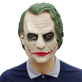 Zhangmeiren Máscara De Payaso Batman Sombrero De Látex Máscara De Caballero Oscuro