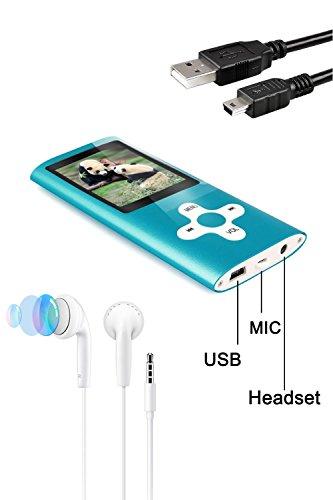 Tabmart Metal Hi-Fi Capacità Di 16GB Lettore MP3 Musicale Portatile Lettore MP4 Ad Alta Risoluzione...