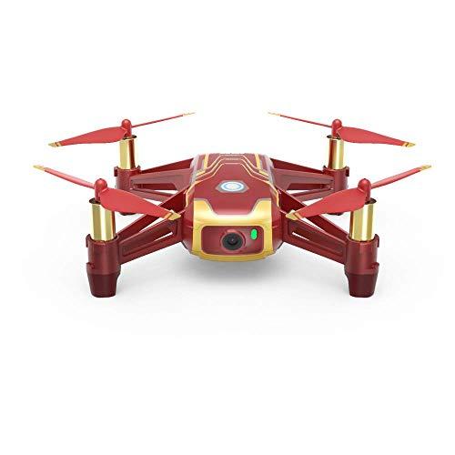 DJI Tello Iron Man Edition - Drone Mini Edizione Iron Man con Trasmissione HD 720p, 100m di...