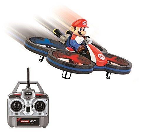Carrera Toys RC- Kart Drone radiocomandato Super Mario, 370503007