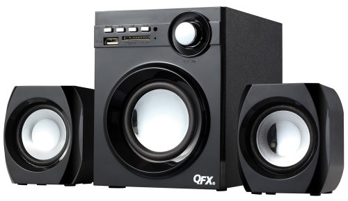 QFX BT-203 2.1 Channel NFC Bluetooth Speaker System