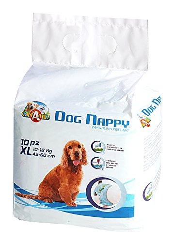 Croci Dog Nappy, Pannolino per cani, confezione da 10