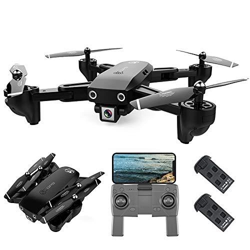 Goolsky CSJ S166 GPS Drone con Fotocamera 1080P Seguimi Ritorno Automatico Home WiFi FPV Foto di...