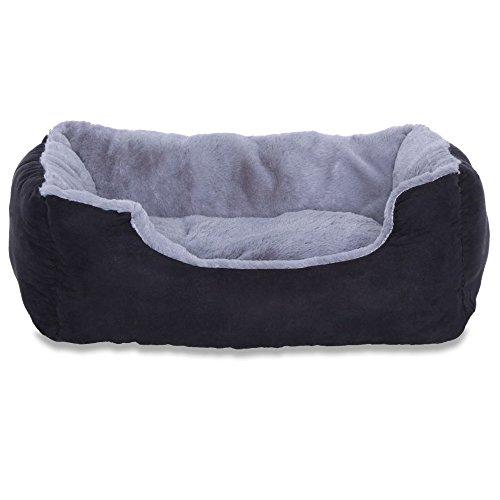 dibea DB00520, Letto per Cani, Divano morbido, Velluto, cuscino reversibile (S) 50 x 37 cm,...