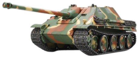 TAMIYA 300056024 - Jagdpanther FullOptionKit, ferngesteuerter Panzer, 1:16, Elektromotor, Bausatz