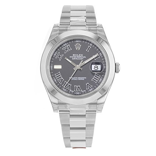 ROLEX DATEJUST II MEN'S STAINLESS STEEL CASE AUTOMATIC DATE UHR 116300