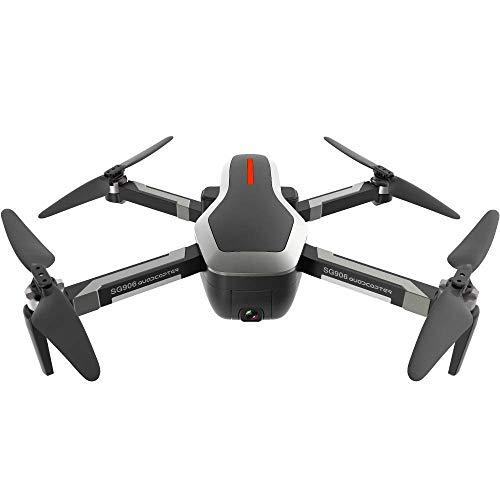 DLC Giocattoli Educativi per Esterni , Fpv Rc Drone con Videocamera Wireless Hd Live Video e Modalità Senza Testa Giroscopio a 6 Assi Quadricottero Pieghevole per il Mantenimento Dell'Altezza e Decol