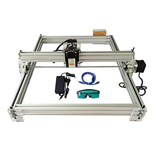 HUKOER 40X50CM DIY CNC Laser Engraver Kits 12V USB Desktop Laser Engraving Machine
