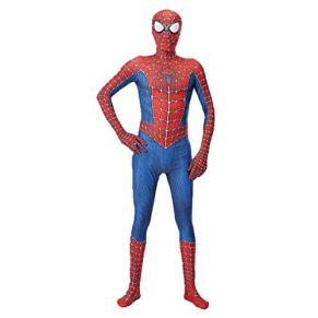 Leezeshaw - Disfraz de superhéroe de Marvel, Unisex, para Adultos y niños, Licra y Spandex, Traje de superhéroe Zentai para Disfraces de Halloween