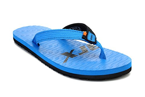 Sparx Men's Blue and Black Flip-Flops and House Slippers - 8 UK/India(42 EU)(SFU-204)
