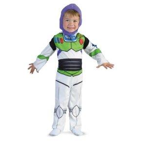 Disfraz 187300 Tama-o Toy Story-Buzz Lightyear Classic Ni-o-Ni-o Traje: Semi-largo (7-8)