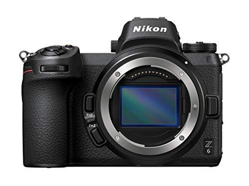 Nikon Z6 + FTZ Mount Adattatore Fotocamera Mirrorless Full Frame, CMOS FX da 24.5 MP, 273 Punti AF,...