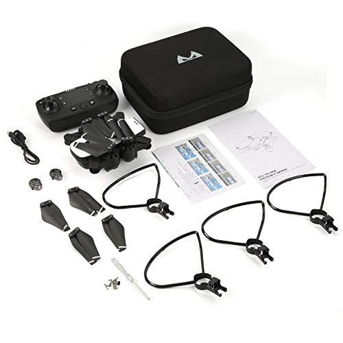 Mini WiFi Drone con Fotocamera HD 1080P SMRC S20 2.4G Altitude Hold RC Quadcopter Bianco e Nero